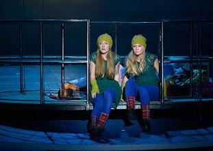 Photo: WIEN/ Akademietheater: DIE SCHNEEKÖNIGIN - Märchen von Hans Christian Andersen. Inszenierung: Anette Raffalt, Premiere 15. November 2014. Alina Fritsch. Foto: Barbara Zeininger