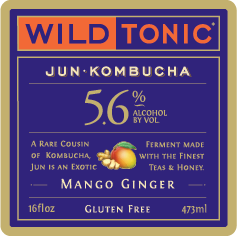 Logo of Wild Tonic Mango Ginger