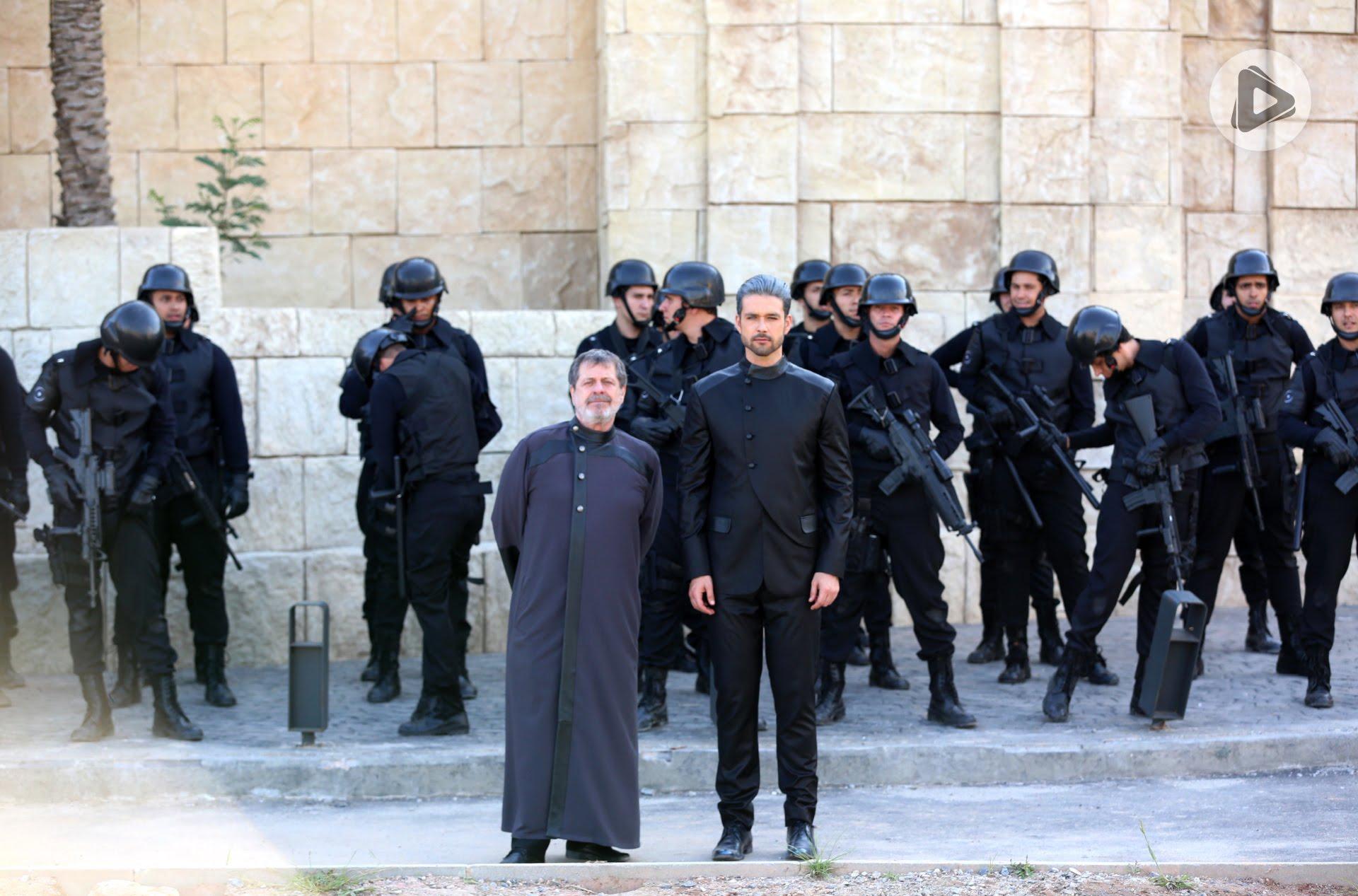 Ricardo Montana e Stefano em Jerusalém