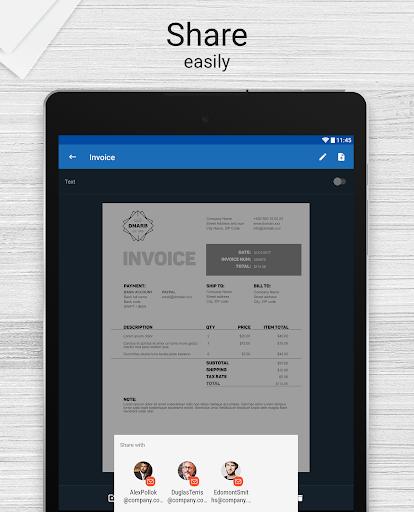 Scanner for Me: Convert Image to PDF Aplicaciones (apk) descarga gratuita para Android/PC/Windows screenshot