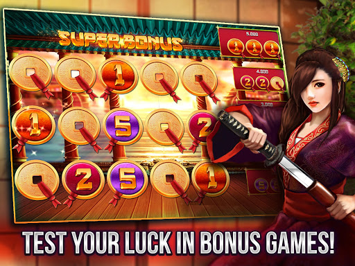 Free Vegas Casino Slots - Samurai  screenshots 3