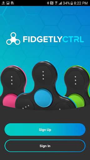 FidgetlyCTRL Mobile Phone Connecting Fidgit Spinner