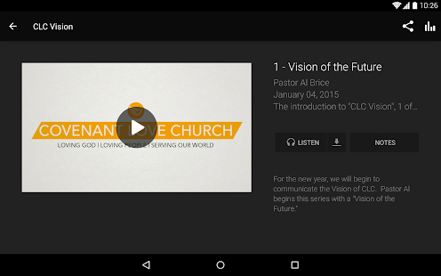 Covenant Love Church- screenshot thumbnail