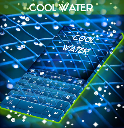 Cool Water Keyboard 1.224.1.81 screenshot 933396