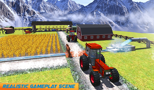 Snow Tractor Agriculture Simulator screenshot 10