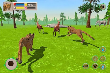 Leopard Online: Family Sim Screenshot