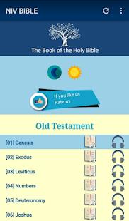 Holy Bible NIV Free - náhled
