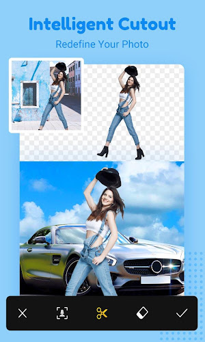 Cut Cut - Cutout & Photo Background Editor Android App Screenshot