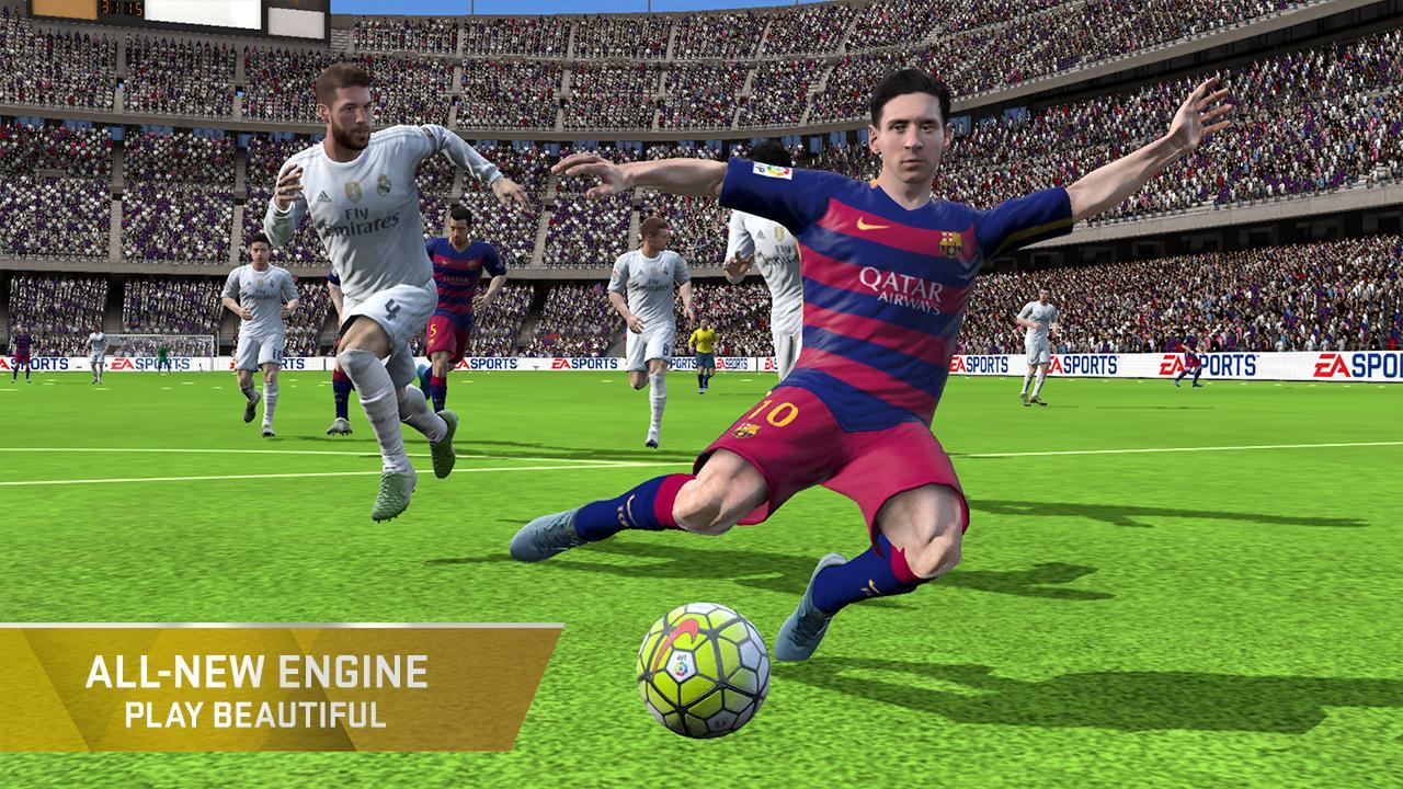 FIFA 16 Ultimate Team- tangkapan layar