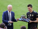 """Robert Lewandowski a battu le record de buts de Gerd Müller : """"Il est actuellement plus fort que Ronaldo et Messi"""""""