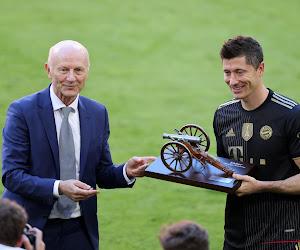Robert Lewandowski élu meilleur joueur de Bundesliga par ses pairs