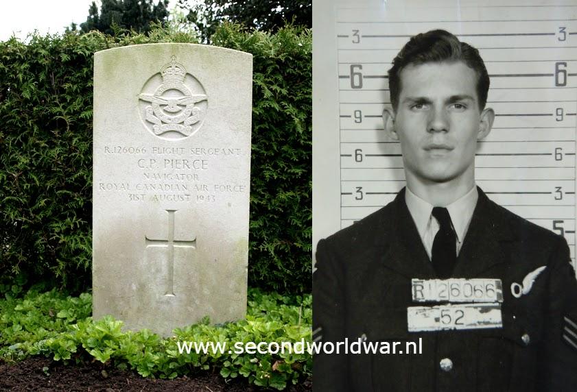 Flight Sergeant C.P. (Charles Philips) Pierce