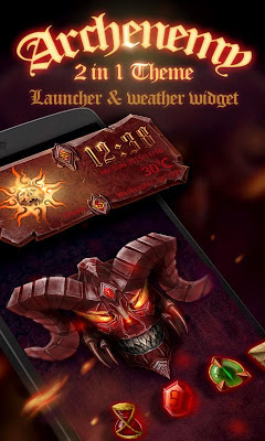 (FREE) Arch Enemy 2 In 1 Theme - screenshot