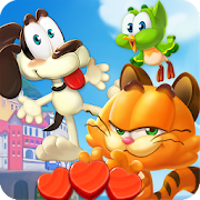 Magic Cat Match : Swipe & Blast Puzzle