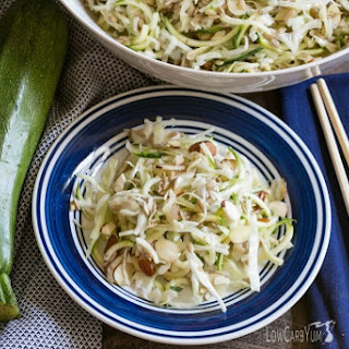Spiralized Zucchini Asian Salad