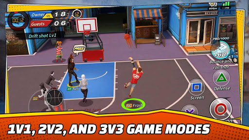 Basketball Crew 2k19 - streetball bounce madness! 10.0.838 de.gamequotes.net 2