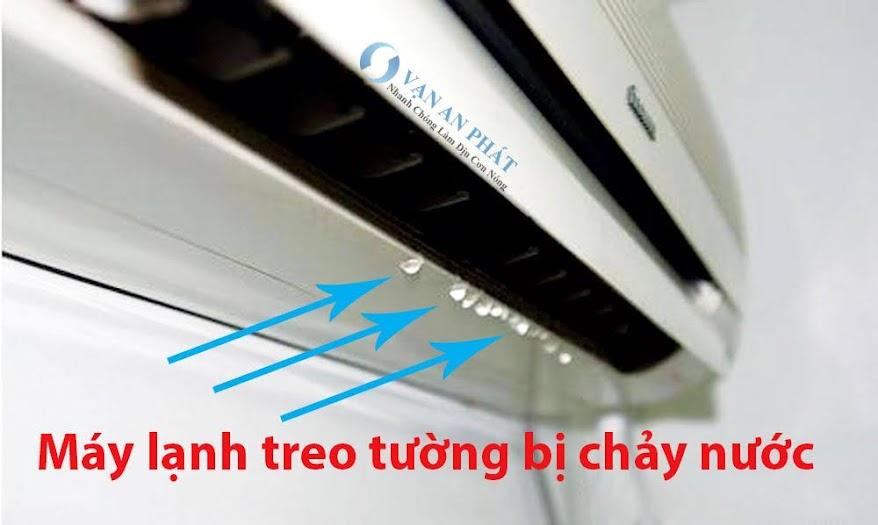 may lanh bi chay nuoc