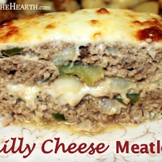 Philly Cheese Meatloaf.