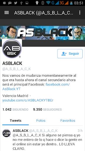 Asblack