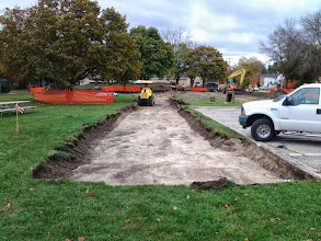 Photo: Path Excavation 10-21-2013