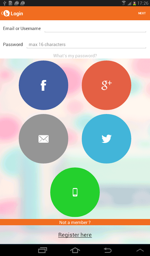 Bubbly - Share Your Voice - screenshot