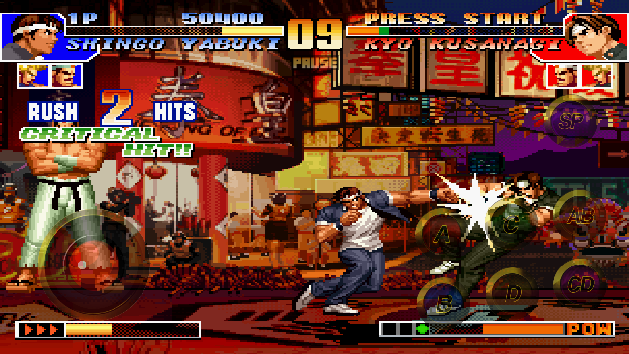 The King Of Fighters 97 1 4 Apk Download Com Snkplaymore