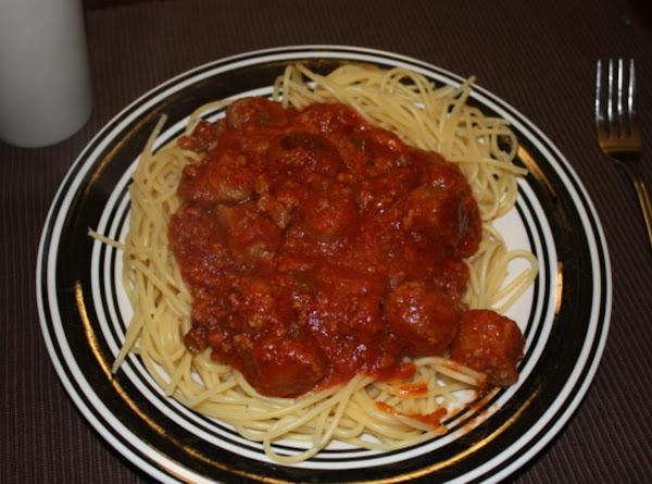 My Grandma's Spaghetti Sauce Recipe