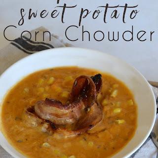 Chipotle Sweet Potato Corn Chowder