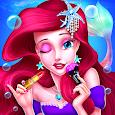 🧜♀️Mermaid Princess Makeup - Girl Fashion Salon