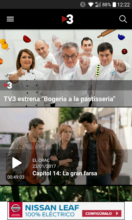 TV3- screenshot