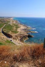 Photo: Looking south to the city of Haifa.