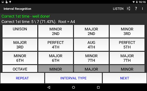 Interval Recognition-Ear Train - screenshot thumbnail