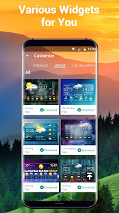Weather Forecast Widget with Battery and Clock APK image thumbnail 6
