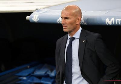 """Zinedine Zidane battu mais """"pas préoccupé"""""""