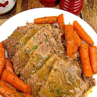 Slow Cooker Ranch Pot Roast.
