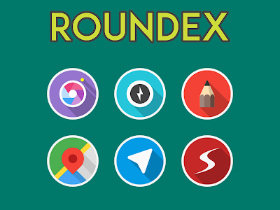 ROUNDEX - ICON PACK v1.3.1