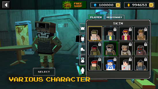 Pixel Z Gunner- 3D FPS - náhled