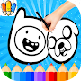 🇺🇸 Coloring Book For Adventure Time APK icon