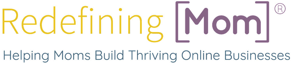 Redefining Mom Logo