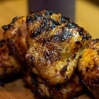 Grilled BBQ Chicken.