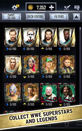 WWE SuperCard – Multiplayer Card Battle Game screenshot 16