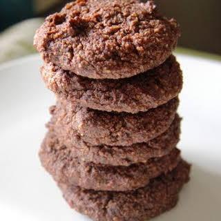 Avocado Chocolate Cookies (Almond Flour).