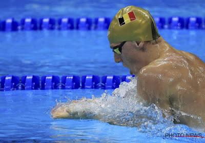 Le jeune recordman belge du 50 mètres brasse met fin à sa carrière