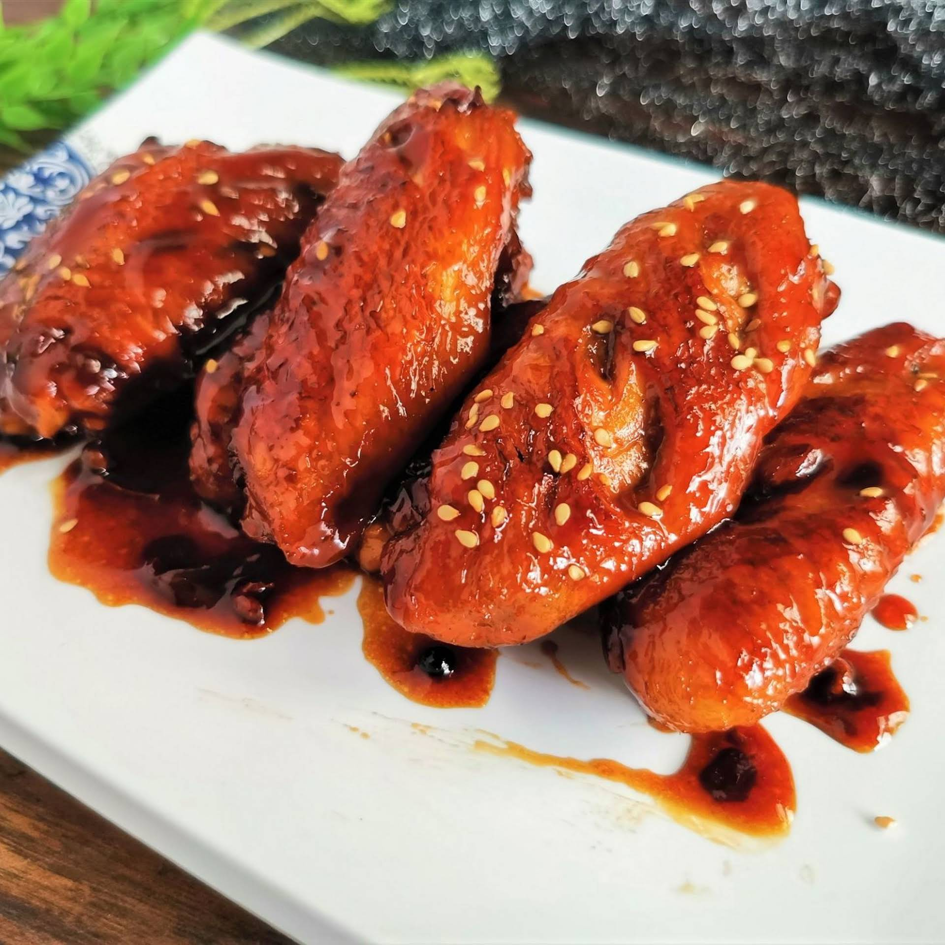 Chinese Sweet and  barbed Chicken Wings | China Food