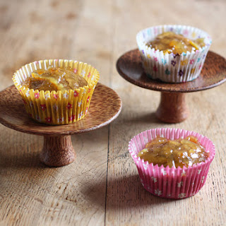 Orange And Ginger Cupcakes.