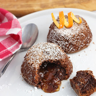 Mini Chocolate Orange Lava Cakes Recipe