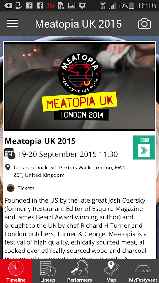 Meatopia UK- screenshot