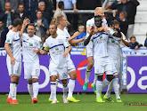 Le Sporting d'Anderlecht s'impose à Genk et suit le rythme de Zulte Waregem