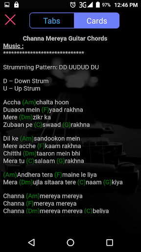 Download Guitar Tabs Chords Bollywood Songs Hindi Free For Android Guitar Tabs Chords Bollywood Songs Hindi Apk Download Steprimo Com So, don't panic if you not find your songs just click on message button from app and request as a beginner, your ears won't be able to tell if your guitar has gone slightly out of tune. download guitar tabs chords bollywood