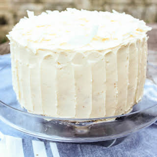 Coconut And White Chocolate Layer Cake.